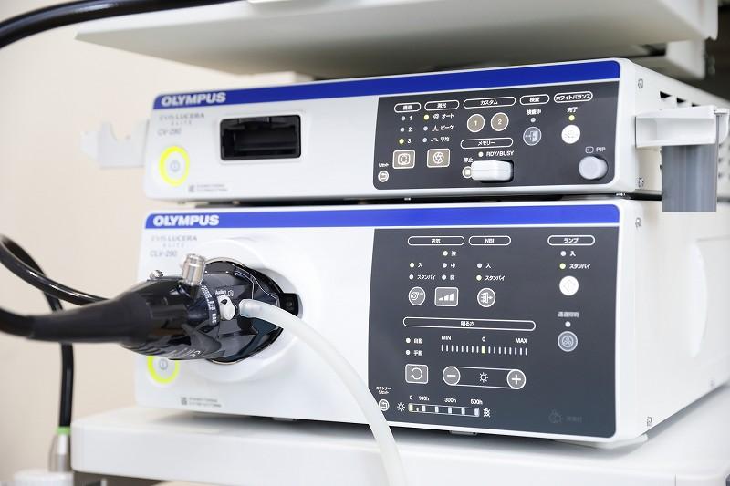 最新鋭の検査機器導入